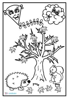 Autumn Activities For Kids, Autumn Crafts, Colour Images, Coloring Pages, Fairy Tales, Diy And Crafts, Preschool, Sketches, Clip Art