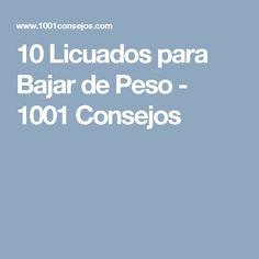 10 Licuados para Bajar de Peso - 1001 Consejos