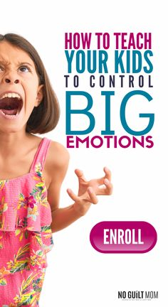Want your child to express emotions better? Sick of temper tantrums and tired of the screaming? This one-of-a-kind online teaches your child how to name their emotions, calm down and learn conflict resolution. Means fewer fights between siblings, too! Gentle Parenting, Parenting Advice, Dealing With Frustration, How To Control Emotions, Healthy Lunches For Kids, Kids Behavior, Parenting Toddlers, Kids Health, Teaching Kids