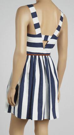 Cute nautical dress