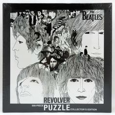 Beatles Revolver 500 Piece Collectors Edition Puzzle Klaus Voormann Illustration #USAopoly