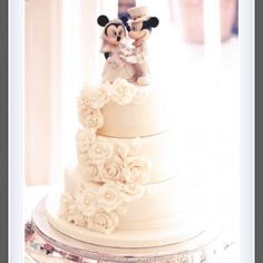 I will have Mickey and Minnie cake toppers one day.