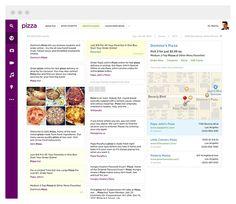 Yahoo.com by Ignacio Giri, via Behance