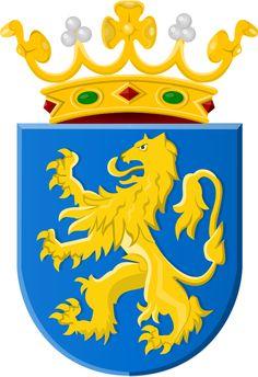 Coat of arms of Leeuwarden. Es la capital de la provincia de Frisia, y también del municipio homónimo de Leeuwarden, una de las once ciudades tradicionales de Frisia, localizada al norte de los Países Bajos. Leeuwarden tiene alrededor de 96.578 habitantes (2009).