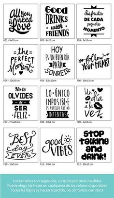– USD in Mercado Libre Plotter Silhouette Cameo, Foto Transfer, Copics, Project Life, Word Art, Stencils, Diy And Crafts, Typography, Positivity