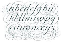 alfabeto copperplate - Buscar con Google