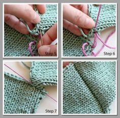 Seaming Made Easy (Really!) - Creative Knitting BlogCreative Knitting Blog