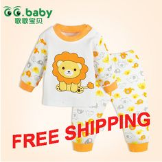Find More Clothing Sets Information about 2015 New Cotton Baby Boy Girl Clothes Sets Lion Long Sleeved Bebes Tops+Pants Newborn Clothing Suits,High Quality Clothing Sets from GG. Baby Flagship Store on Aliexpress.com