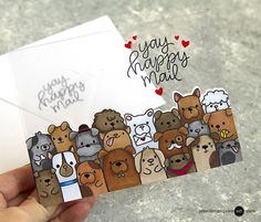 Hello! Today I am sharing 4 ways to incorporate clear elements on your cards. I also am sharing with you my favorite clear (acetate) products... I tested many!