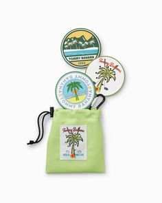 Absolute Parfection Chipping Discs - Set of 3 You're Awesome, Tommy Bahama, Pot Holders, Accessories, You Are Amazing, Hot Pads, Potholders, You Are Awesome, Jewelry Accessories