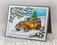 Rain Puddles Design: Gifts by the Load by Stampendous of course
