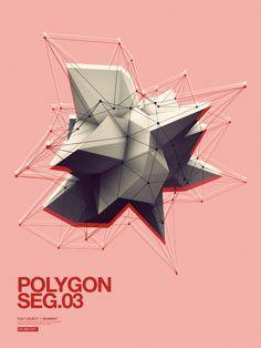 Polygon by Jean-Michel Verbeeck, via Behance Concept Art SteamPunk… Graphic Design Posters, Graphic Design Typography, Graphic Design Inspiration, Graffiti, Polygon Art, Geometry Pattern, Grafik Design, Graphic Illustration, Design Art