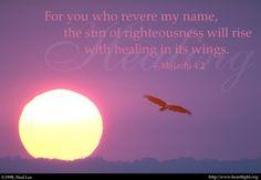 아멘 주 예수여 어서 오시옵소서              Amen! Come, Lord Jesus: CHRIST Is The Sun Of Righteousness Which Heals Us
