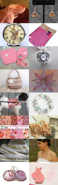 Pretty in Pink by amy scarlett on Etsy--Pinned with TreasuryPin.com