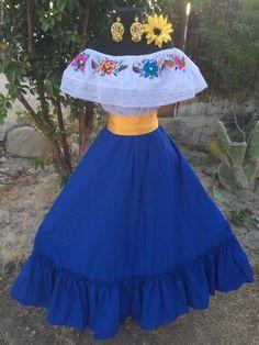 Mexican Dress Fiesta,5 De Mayo,Wedding 2 Piece.Vestido de Fiesta Mexicana | Clothing, Shoes & Accessories, Women's Clothing, Dresses | eBay!