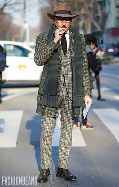 The Best Of Men's Fashion Week Street Style