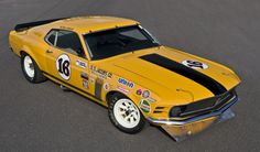 Peter Gregg Trans-Am Mustang Boss 302 headed to auction