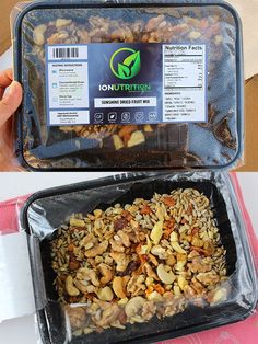 Sunshine Dried Fruit Mix - IONutrition Review - Amazing Meal Delivery Service to Try right now. - Subaholic • Reviews of Subscription Boxes