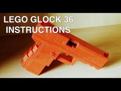 Lego Glock 36 instructions / tutorial / howto - YouTube