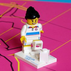 LEGO Jill Scott ready for action at the Olympics