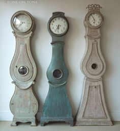 Sculptural beauty in these Mora clocks! Tone on Tone: New Swedish Shipment!