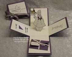 Geldgeschenke - Magic Box zum Geburtstag/Hochzeit/Gutschein Essen - ein Designerstück von MaJas-Cards bei DaWanda