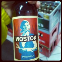 Yet another foreign, but tasty beverage : #Wostok #tannenwald | Flickr - Photo Sharing!