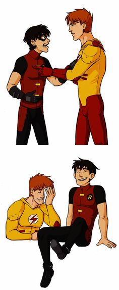 YJ: Brothers fight by malin-j