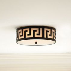 Greek Key Ceiling Mount by Ballard Designs