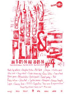 Plug&play festival #4 - linocut by albertus