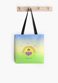 #celebrating #celebratinglife #green #yellow #sun #art #prints #giftideas #gifts #cartoons #watercolors #totebag #bags