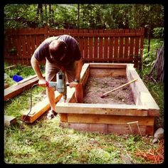 How to build raised garden beds - a tutorial.