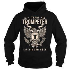 Team TROMPETER Lifetime Member - Last Name, Surname T-Shirt