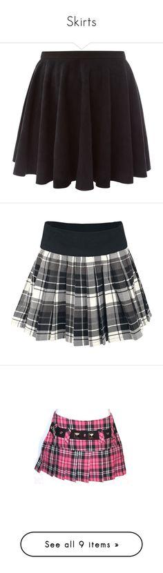 """Skirts"" by flamingfirewolf ❤ liked on Polyvore featuring skirts, mini skirts, bottoms, saias, faldas, purple skater skirt, suede skirt, short skirts, purple skirt and purple mini skirt"