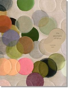 GEOMETRY OF ERROR A catalogue of Mekhala Bahl's Work by India graphic design studio Ishan Khosla Design. via the studio's site Book Cover Design, Book Design, Design Art, Studio Design, Textures Patterns, Color Patterns, Print Patterns, India Design, Catalog Design