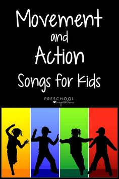 Movement and Action Songs Guaranteed to Get Kids Moving!