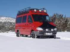 New Mercedes Sprinter 4x4 camper van: The most fuel-efficient Sportsmobile ever