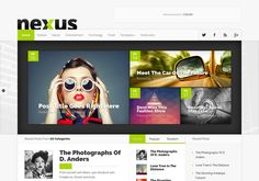 #Nexus_WordPress_theme is a premium versatile #magazine_WordPress_theme For Download Visit: http://www.premiumthemes4u.com/2014/04/nexus-wordpress-theme.html