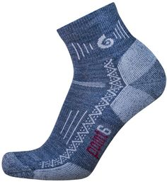point6 Hiking Tech Light Cushion Mini Crew Socks (Gray, Large). Great Sock with low-cut hikers and trail shoes. Cushion under foot. It is critical to maintain optimum body temperature at ?98point6? degrees Regulation Fahrenheit (this is where we get our name). Wool does this!. point6?s soft merino fibers will not itch or irritate the skin. Renewable and natural products.
