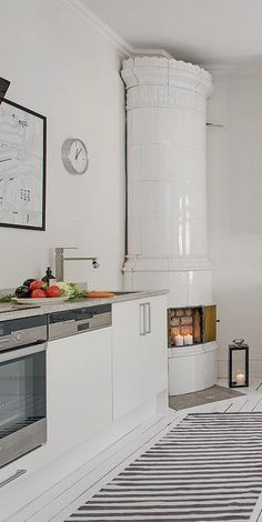 Kitchen as a central place in a home - via cocolapinedesign.com