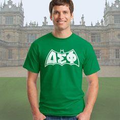 Delta Sigma Phi Fratman Printed T-Shirt - Gildan 5000 - CAD