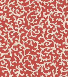 :) coral coral fabric