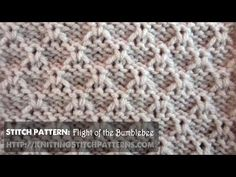 Textured Stitches: Flight Of The Bumblebee