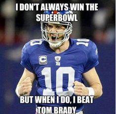 New York Giants, Elite Eli Manning #NYG #sackbrady