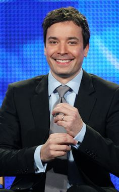 Jimmy Fallon! He's hilarious and personally I think he's one of the best late night hosts television has ever seen. His quirky sense of humor stemming from SNL always has me in stitches. Plus, his clean humor is a welcome change to many comedians nowadays who think filthy is golden.