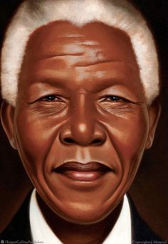 This stunning picture book biography of Nelson Mandela by Kadir Nelson is a receipient of the Coretta Scott King Honor award. This nonfiction picture book i. Nelson Mandela Biography, Kadir Nelson, Art Visage, Afrique Art, Coretta Scott King, Angela Davis, Non Fiction, Black Artwork, We Are The World