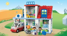 #LegoDuploParty    13.) Can't have a town without a place for people to get medical treatment!
