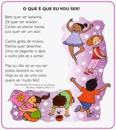 Textos para imprimir - Leituras Special Education, Art School, Bullying, Children, Kids, Homeschool, Family Guy, Language