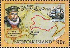 Norfolk Island 1994 Pacific Explorers Fine Mint SG 570 Scott 560 Other European and British Commonwealth Stamps HERE!