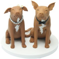 Dog cake toppers created from your very own pet